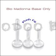 Transparent Bio-Flex Labret Base
