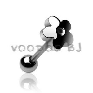 Flower Stainless Steel Top 316L Surgical Steel Barbell